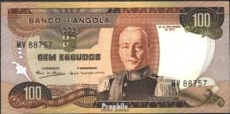 Angola Pick-Nr: 101 Bankfrisch 1972 100 Escudos - Angola