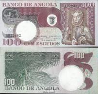 Angola Pick-Nr: 106 Bankfrisch 1973 100 Escudos - Angola