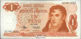 Argentinien Pick-Nr: 287 Bankfrisch 1970 1 Pesos - Argentinien