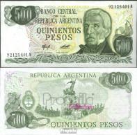 Argentinien Pick-Nr: 303a Bankfrisch 1977 500 Pesos - Argentine
