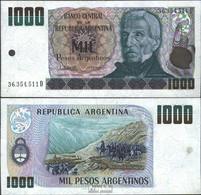Argentinien Pick-Nr: 317b Bankfrisch 1983 1.000 Pesos Argentinos - Argentinien