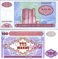 Aserbaidschan Pick-Nr: 18b Bankfrisch 1993 100 Manats - Azerbaïjan