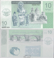 Berg-Republik Pick-Nr: 10 Bankfrisch 2004 10 Narg - Banknotes