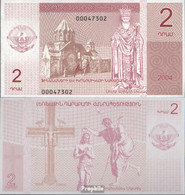 Berg-Republik Pick-Nr: 2 Bankfrisch 2004 2 Narg - Billets