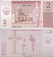 Berg-Republik Pick-Nr: 2 Bankfrisch 2004 2 Narg - Banknoten