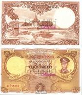 Birma Pick-Nr: 50a Bankfrisch 1958 50 Kyats - Myanmar