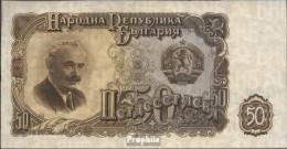 Bulgarien Pick-Nr: 85a Bankfrisch 1951 50 Leva - Bulgarien
