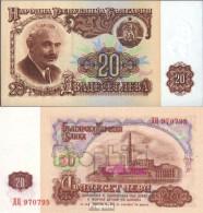 Bulgarien Pick-Nr: 97a Bankfrisch 1974 20 Leva - Bulgarien