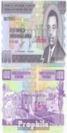 Burundi Pick-Nr: 37e Bankfrisch 2006 100 Francs - Burundi