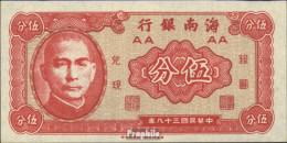 China Pick-Nr: S1453 Bankfrisch 1949 5 Cents - China