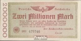 Berlin Pick-Nr: S1012a Inflationsgeld Der Deutschen Reichsbahn Berlin Gebraucht (III) 1923 2 Millionen Mark - [ 3] 1918-1933 : Repubblica  Di Weimar