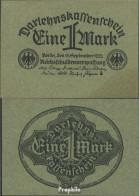Deutsches Reich RosbgNr: 73a, Grünes Papier Bankfrisch 1922 1 Mark - [ 3] 1918-1933 : Weimar Republic