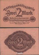 Deutsches Reich RosbgNr: 74 Bankfrisch 1922 2 Mark - [ 3] 1918-1933 : República De Weimar
