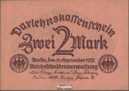 Deutsches Reich Rosenbg: 74 Gebraucht (III) 1922 2 Mark - 2 Mark