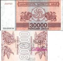 Georgien 47 Bankfrisch 1994 30.000 Laris - Géorgie