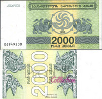Georgien Pick-Nr: 44 Bankfrisch 1993 2.000 Laris - Géorgie