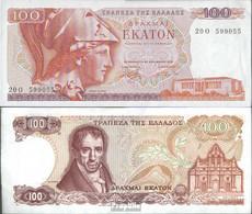 Griechenland Pick-Nr: 200b Bankfrisch 1978 100 Drachmai - Griechenland