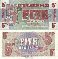 Großbritannien Pick-Nr: M47 Bankfrisch 1972 5 New Pence - 1952-… : Elizabeth II