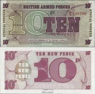 Großbritannien Pick-Nr: M48 Bankfrisch 1972 10 New Pence - 1952-… : Elizabeth II