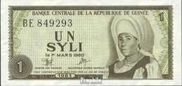 Guinea Pick-Nr: 20a Bankfrisch 1981 1 Syli - Guinea