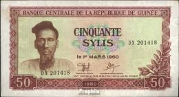 Guinea Pick-Nr: 25a Gebraucht (III) 1980 50 Sylis - Guinea