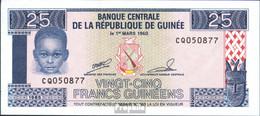 Guinea Pick-Nr: 28a Bankfrisch 1985 25 Sylis - Guinea