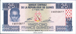 Guinea Pick-Nr: 28a Bankfrisch 1985 25 Sylis - Guinée