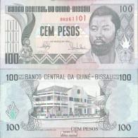 Guinea-Bissau Pick-Nr: 11 Bankfrisch 1990 100 Pesos - Guinee-Bissau