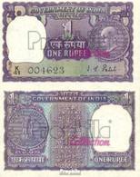 Indien Pick-Nr: 66 Bankfrisch 1970 1 Rupee - Indien