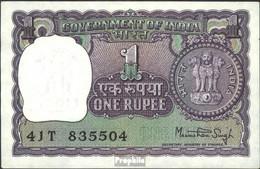 Indien Pick-Nr: 77 Bankfrisch 1977 1 Rupee - Indien
