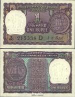 Indien Pick-Nr: 77j Bankfrisch 1972 1 Rupee - Indien