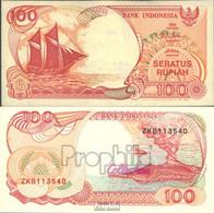 Indonesien Pick-Nr: 127c Bankfrisch 1994 100 Rupiah Segelschiff - Indonesien