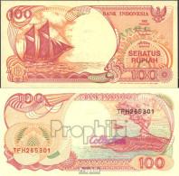 Indonesien Pick-Nr: 127g Bankfrisch 1999 100 Rupiah Segelschiff - Indonésie