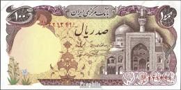 Iran (Persien) Pick-Nr: 135 Bankfrisch 1982 100 Rials - Iran