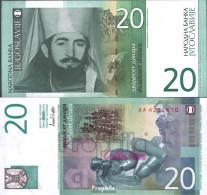 Jugoslawien Pick-Nr: 154a Bankfrisch 2000 20 Dinara - Jugoslawien
