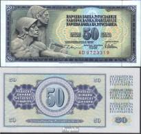 Jugoslawien Pick-Nr: 89a Bankfrisch 1978 50 Dinara - Jugoslawien