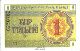 Kasachstan Pick-Nr: 1 Bankfrisch 1993 1Tyin - Kazakhstan