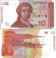 Kroatien Pick-Nr: 18a Bankfrisch 1991 10 Dinar - Kroatien