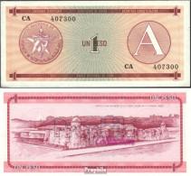 Kuba Pick-Nr: FX1 Bankfrisch 1985 1 Peso - Kuba
