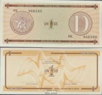 Kuba Pick-Nr: FX32 Bankfrisch 1985 1 Peso - Kuba