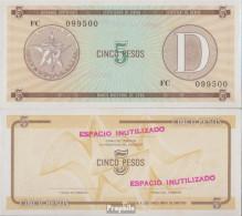 Kuba Pick-Nr: FX34 Bankfrisch 1985 5 Pesos - Kuba