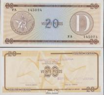Kuba Pick-Nr: FX36 Bankfrisch 1985 20 Pesos - Kuba