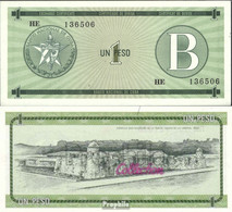 Kuba Pick-Nr: FX6 Bankfrisch 1985 1 Peso - Kuba