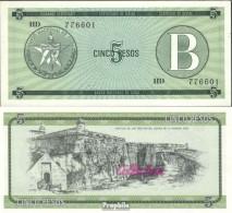 Kuba Pick-Nr: FX7 Bankfrisch 1985 5 Pesos - Kuba