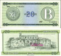 Kuba Pick-Nr: FX9 Bankfrisch 1985 20 Pesos - Kuba