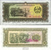 Laos Pick-Nr: 27r Bankfrisch 1979 10 Kip - Laos