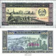 Laos Pick-Nr: 30a Bankfrisch 1979 100 Kip - Laos
