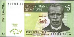 Malawi Pick-Nr: 36a Bankfrisch 1997 5 Kwacha - Malawi
