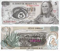 Mexiko Pick-Nr: 62b Bankfrisch 1971 5 Pesos - Mexiko