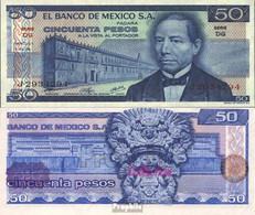 Mexiko Pick-Nr: 65b Bankfrisch 1976 50 Pesos - Mexiko